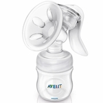 Avent Manual BPA Free Breast Pump with 4 oz Bottle