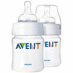 Avent Natural Feeding Bottles - 9oz PP Twin (BPA-Free)