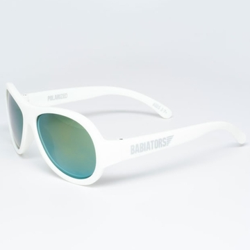 Babiators Junior Polarized - Wicked White