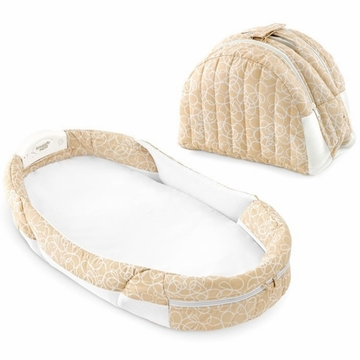 Baby Delight Snuggle Nest Surround - Beige Doodle
