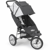 Baby Jogger 2007 1/2 Swivel City Series Single Jet Black