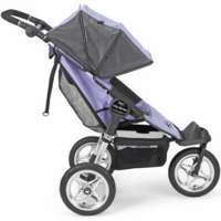 Baby Jogger 2007 1/2 Swivel City Series Single Lilac