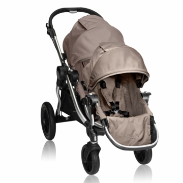 Baby Jogger 2013 City Select Stroller & 2014 Second Seat - Quartz