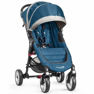 Baby Jogger 2014 City Mini 4-Wheel Stroller - Teal/Gray