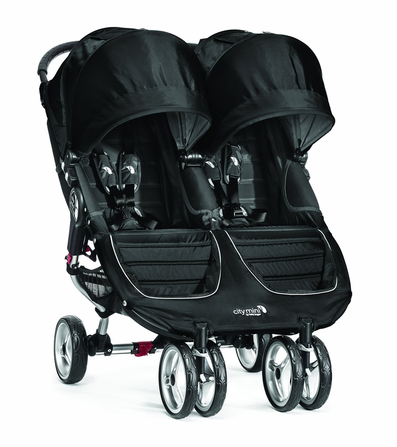 Baby Jogger City Mini Double - Black/Gray