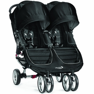 Baby Jogger 2014 City Mini Double - Black/Gray