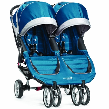 Baby Jogger 2014 City Mini Double - Teal/Gray