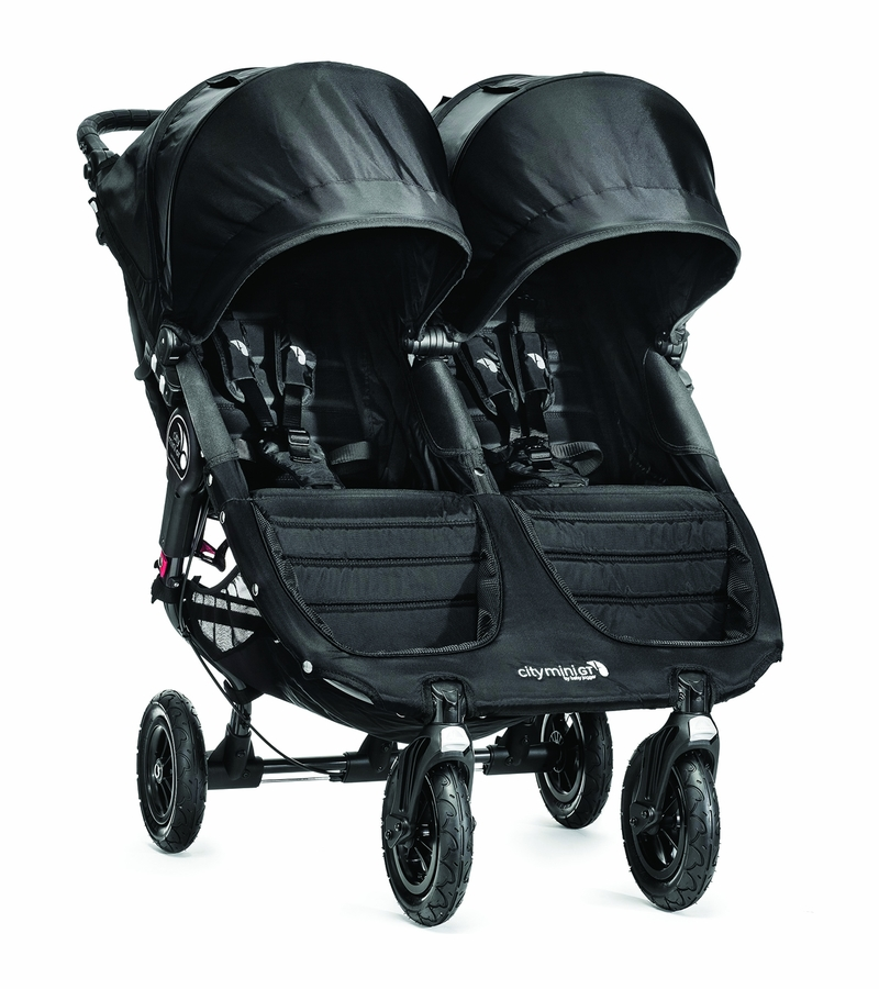 Baby Jogger City Mini Gt Double 2016 Black Black