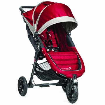Baby Jogger 2014 City Mini GT Single - Crimson/Gray