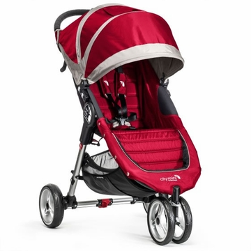 Baby Jogger 2014 City Mini Single - Crimson/Gray