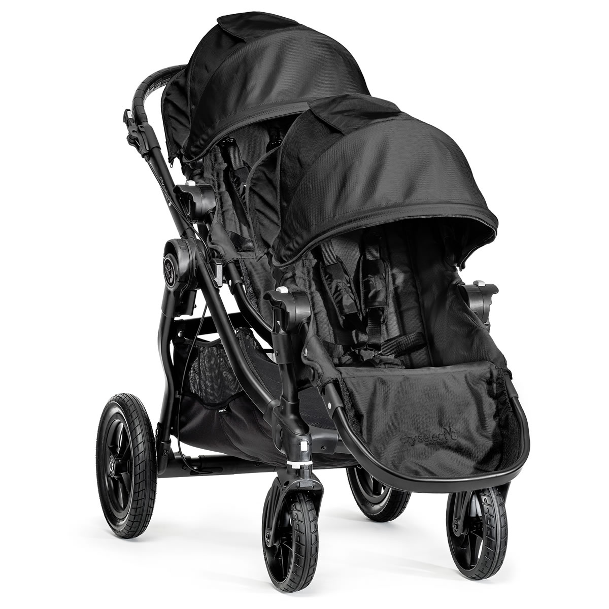 Baby Jogger 2014 City Select Double Stroller Black