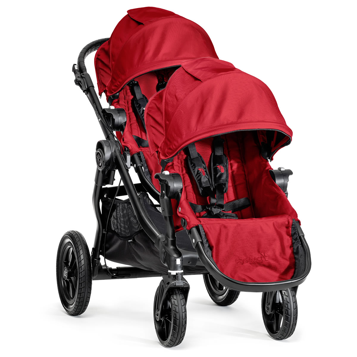 Baby Jogger 2014 City Select Double Stroller Red