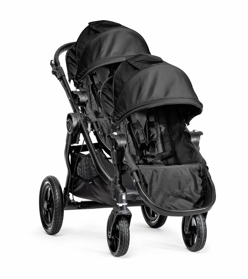 Baby Jogger City Select Double Stroller Black