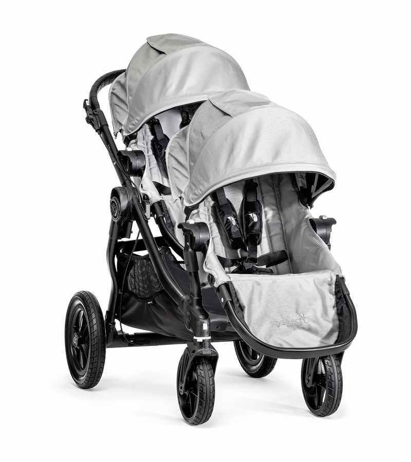 Baby Jogger City Select Double Stroller - Silver