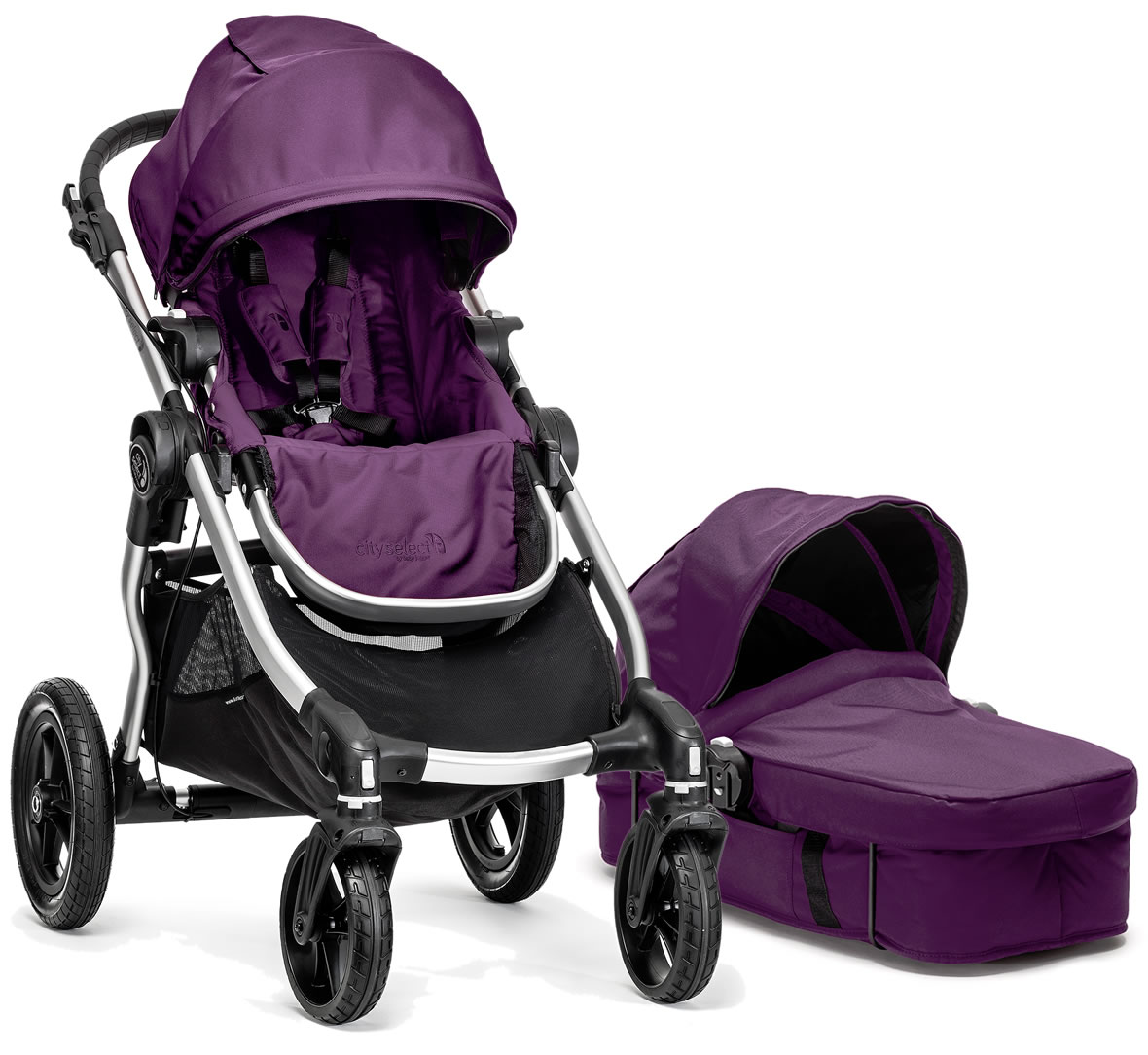 Baby Jogger 2014 City Select Stroller Amp Bassinet Amethyst