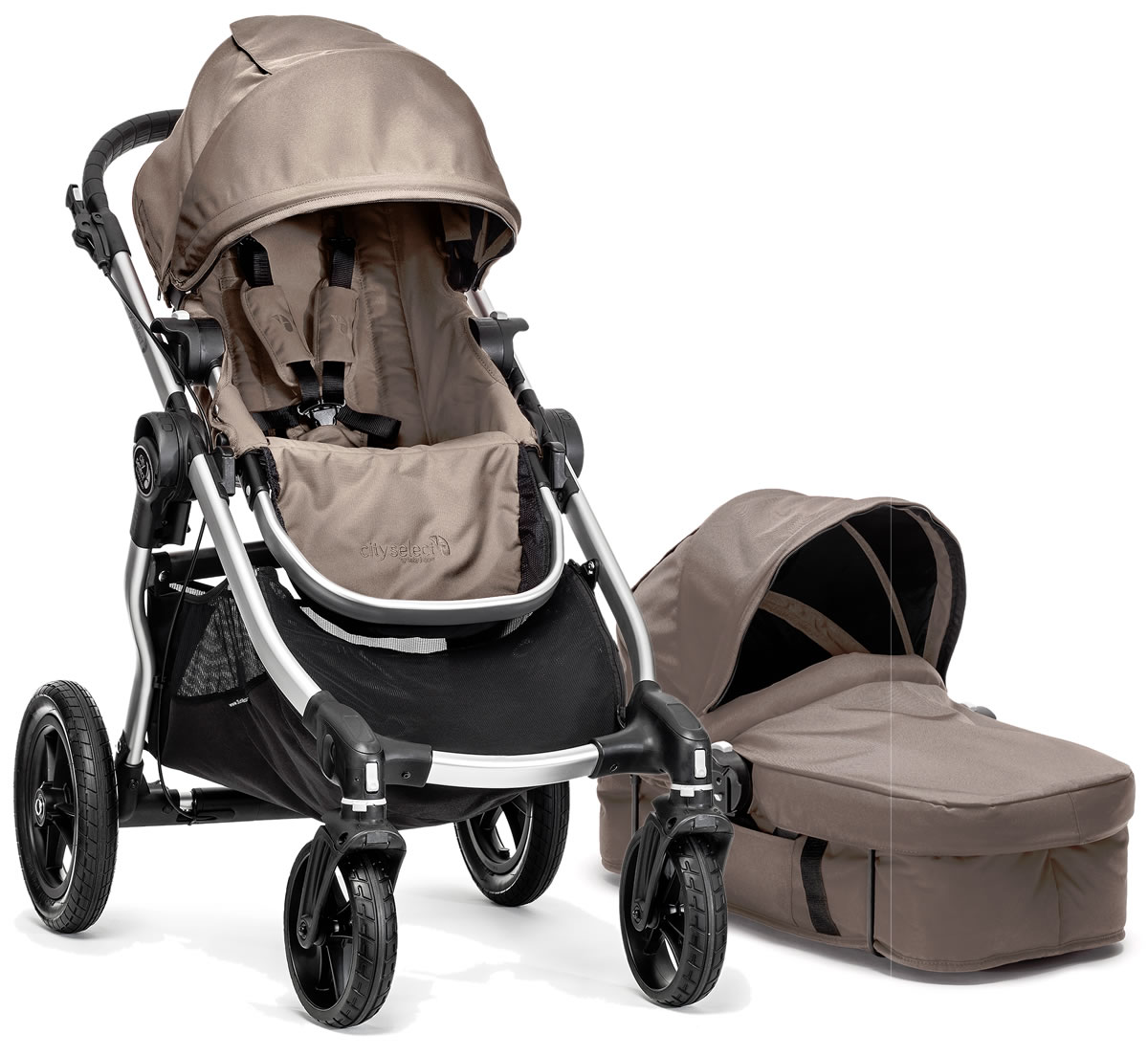 Baby Jogger 2014 City Select Stroller Amp Bassinet Quartz
