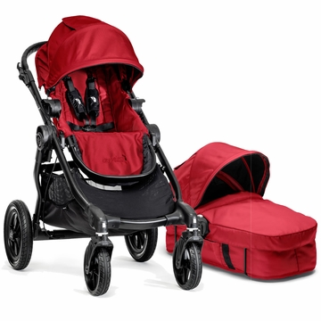 Baby Jogger 2014 City Select Stroller & Bassinet - Red