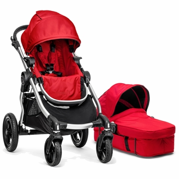 Baby Jogger 2014 City Select Stroller & Bassinet - Ruby