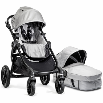 Baby Jogger 2014 City Select Stroller & Bassinet- Silver