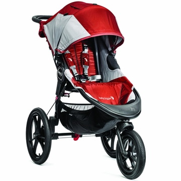 Baby Jogger 2014 Summit X3 Single - Orange/Gray