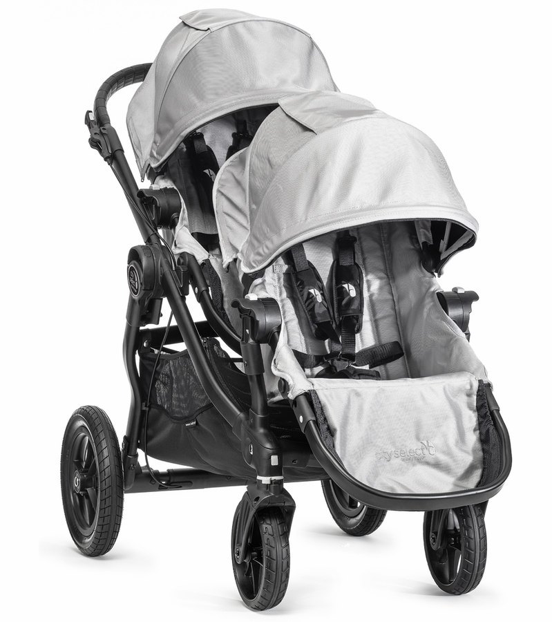 Baby Jogger 2015 City Select Double Stroller Silver