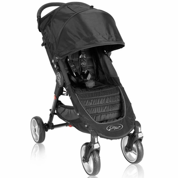 Baby Jogger City Mini 4-Wheel Single 2013 Stroller - Black/Gray