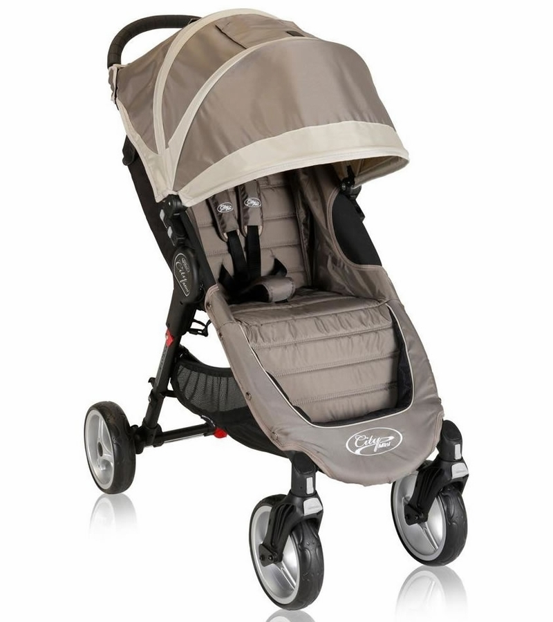 Baby Jogger City Mini 4-Wheel Single 2013 Stroller - Sand/Stone