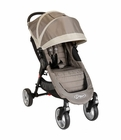 Baby Jogger City Mini 4-Wheel Single Stroller - Sand/Stone
