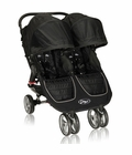Baby Jogger City Mini Double 2013 Stroller Black / Gray