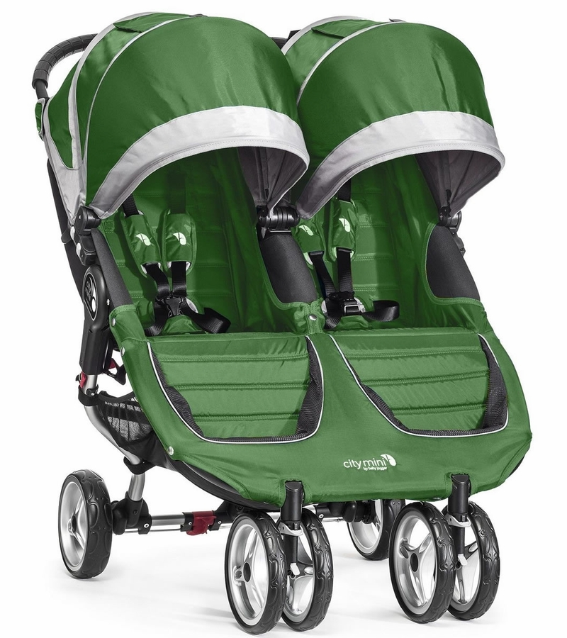 City Mini Double Stroller Baby Jogger Two Seat Jog Twin ...