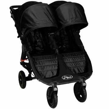 Baby Jogger City Mini GT Double Stroller Black / Black (Albee Baby Exclusive)