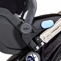 Baby Jogger City Mini & Mini GT Single Stroller Car Seat Adapter for UPPAbaby