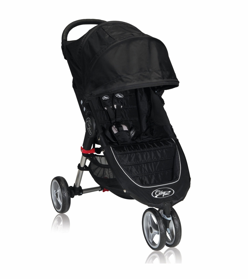 Baby Jogger City Mini Single 2013 Stroller Black Gray