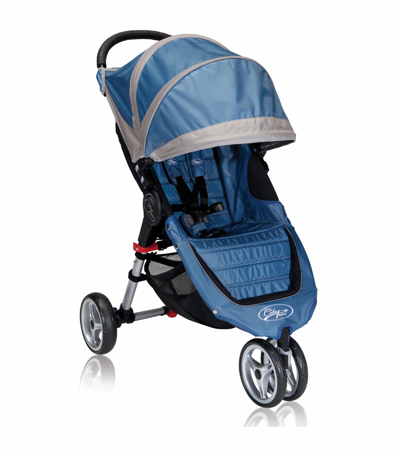 Baby Jogger City Mini Single 2013 Stroller Blue / Gray