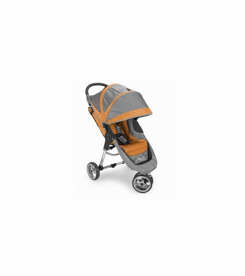 Baby Jogger City Mini Single 8 Quot Stroller 2011 Orange Gray