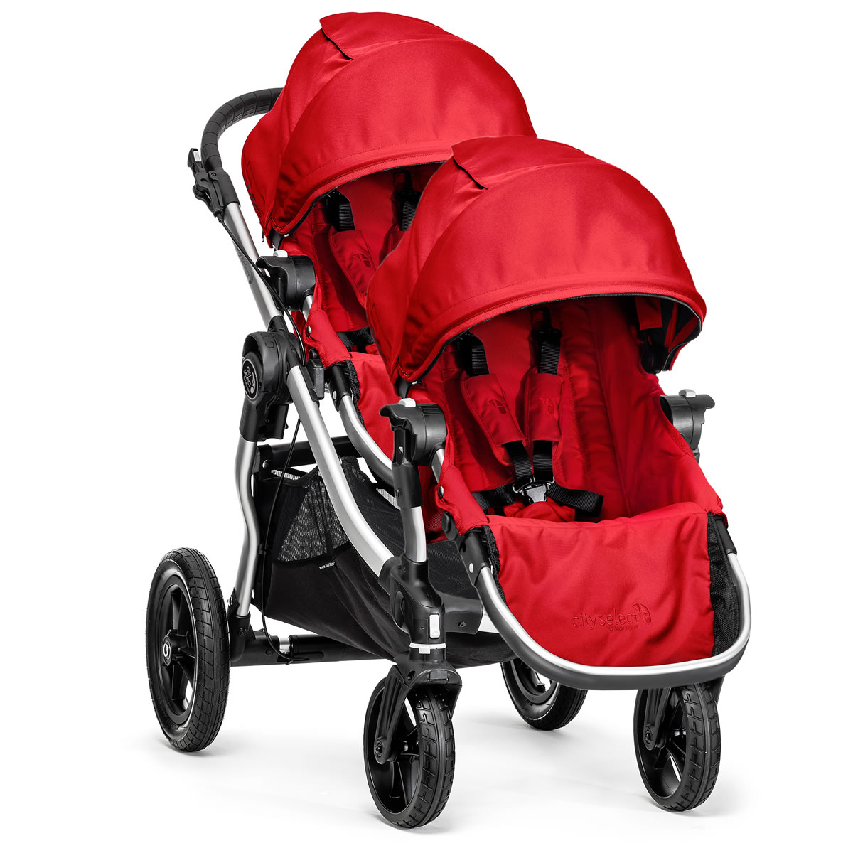 Baby Jogger 2014 City Select Double Stroller Ruby