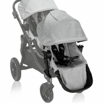 Baby Jogger City Select Second Seat Kit in Silver