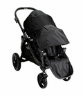 Baby Jogger City Select Stroller with Second Seat Kit in Black