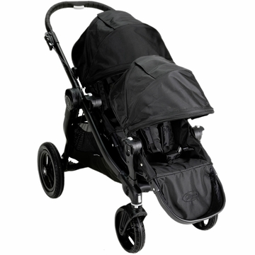 Baby Jogger City Select 2013 Stroller with Second Seat Kit in Black