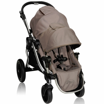Baby Jogger City Select Stroller with Second Seat Kit in Quartz