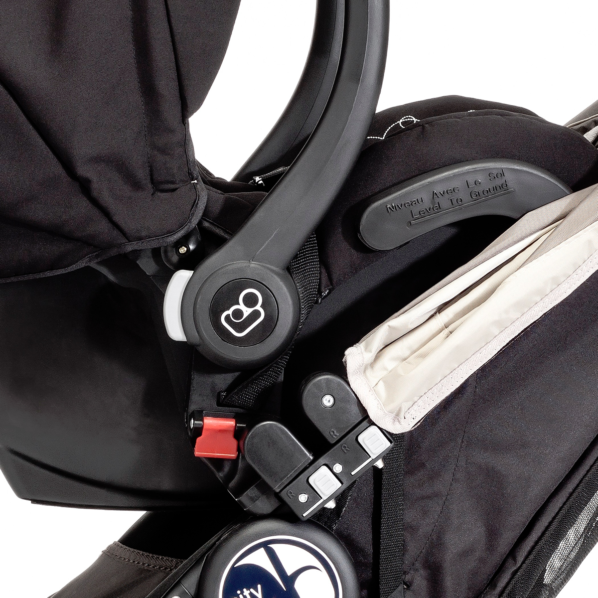 Baby Jogger Single Car Seat Adapter - Multi Model Mounting ...