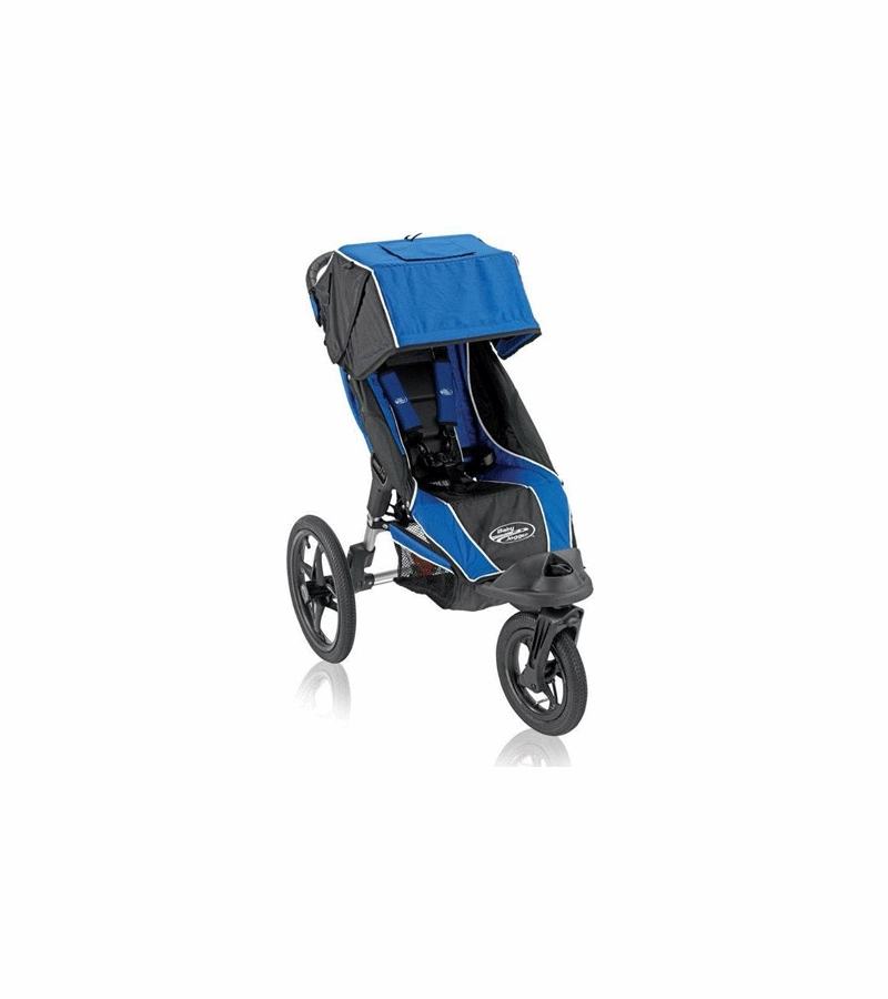 Baby Jogger Summit 360 Single Stroller In Royal/Black