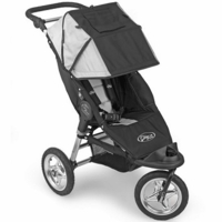 Baby Jogger Swivel City Classic Single 2008 Black/Silver