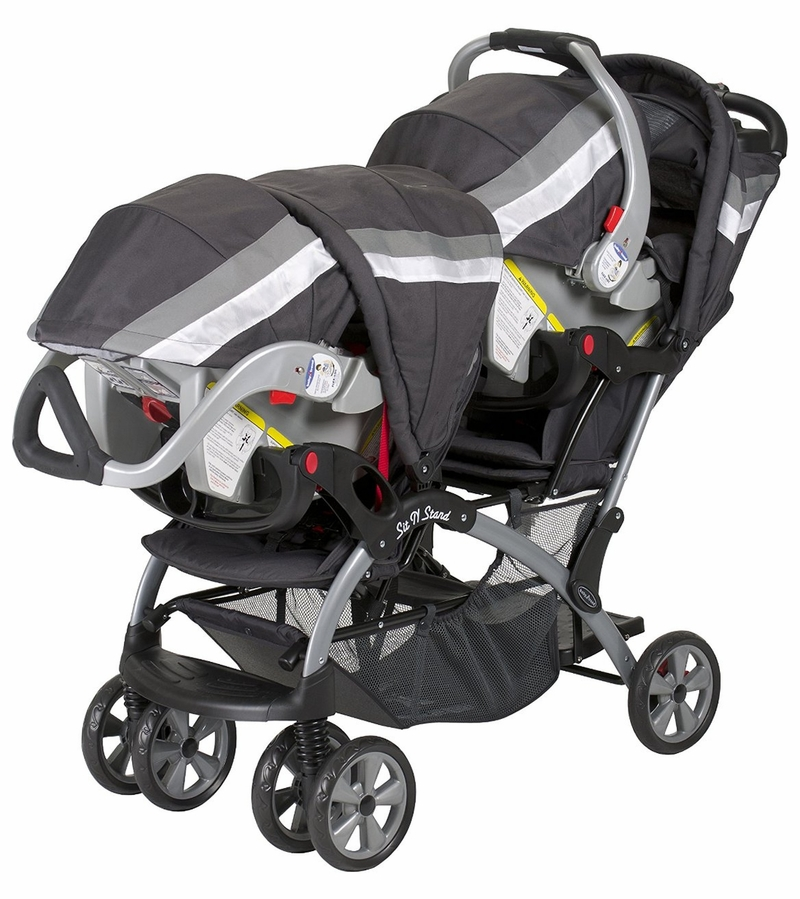 Baby Trend Sit N Stand Double Stroller Liberty