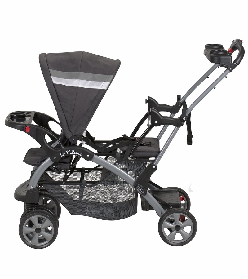 Baby Trend Millennium Double Jogger With Car Seat