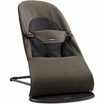 BabyBj�rn Bouncer Balance Soft, Organic - Black/Brown