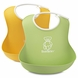 BabyBj�rn Soft Bib 2 Pack in Green & Yellow