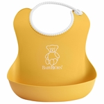 BabyBj�rn Soft Bib in Yellow