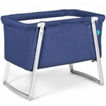 BabyHome Dream Bassinet - Navy