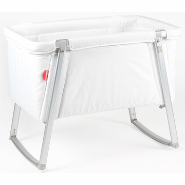BabyHome Dream Baby Crib - White